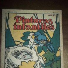 Libros antiguos: PINTURAS INFANTILES.SEGUNDA SERIE. Nº 2. EDITORIAL CALLEJA 1921. SIN COLOREAR.. Lote 58416119