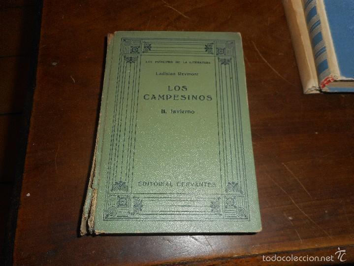 LIBRO PRIMERA EDICION 1926 DE SOLO 25 EJEMPLARES, LOS CAMPESINOS , INVIERNO DE LADISLAO REYMONT (Libros antiguos (hasta 1936), raros y curiosos - Literatura - Narrativa - Otros)