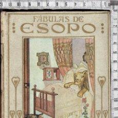 Libros antiguos: FABULAS DE ESOPO - COLECCIÓN ARALUCE-19XX.. Lote 58473838