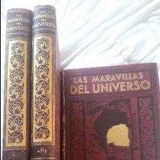 Libros antiguos: LAS MARAVILLAS DEL UNIVERSO(3 TOMOS). Lote 58479542