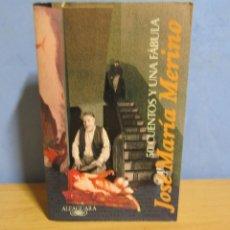 Libros antiguos: JOSE MARIA MERINO - 50 CUENTOS Y UNA FABULA - ALFAGUARA AÑO 1997 1ª EDICION. Lote 58586596