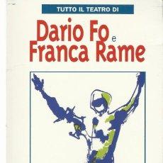 Libros antiguos: FRANCA RAME MISTERIO BUFFO. Lote 58587331