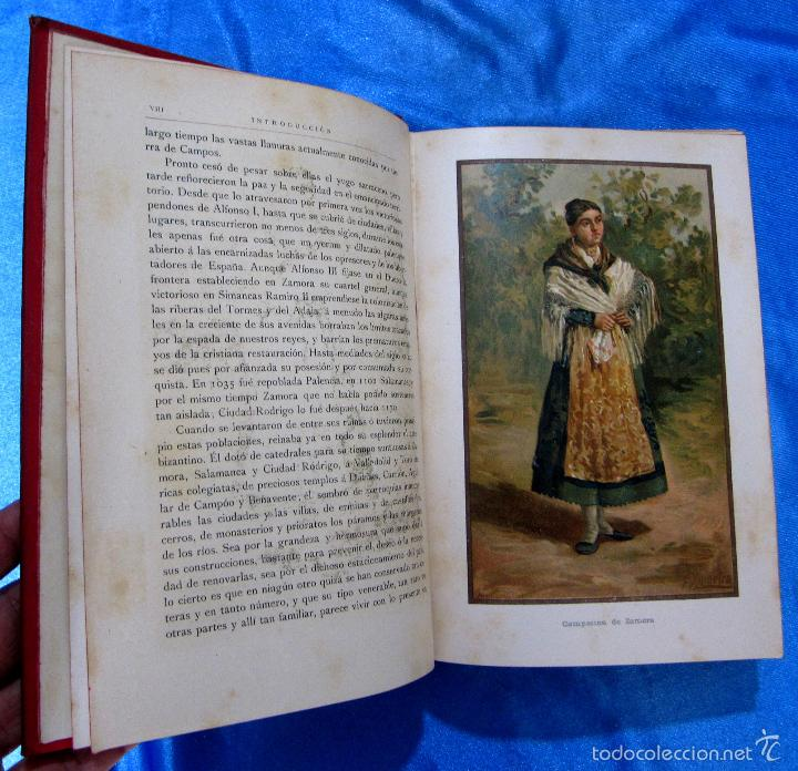 Libros antiguos: VALLADOLID, PALENCIA Y ZAMORA. POR JOSE Mª QUADRADO. DANIEL CORTEZO EDITOR. BARCELONA, 1885 - Foto 6 - 25648060