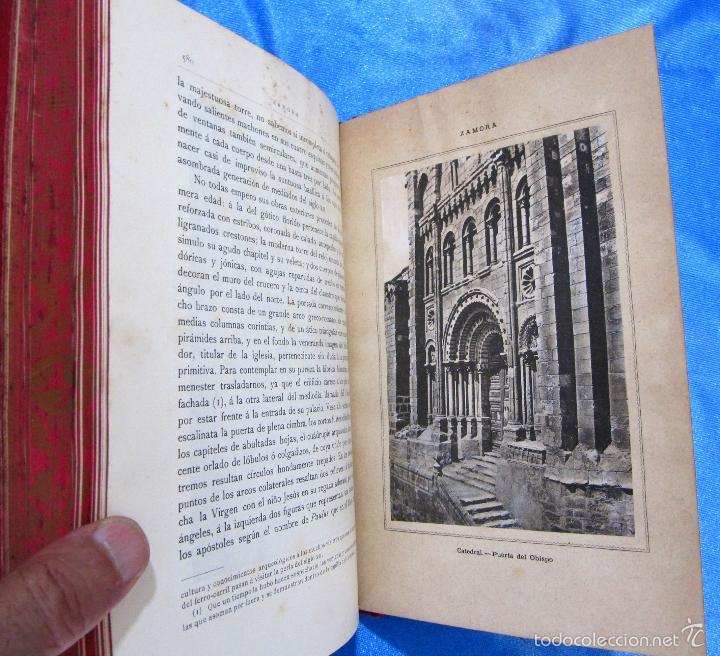Libros antiguos: VALLADOLID, PALENCIA Y ZAMORA. POR JOSE Mª QUADRADO. DANIEL CORTEZO EDITOR. BARCELONA, 1885 - Foto 7 - 25648060