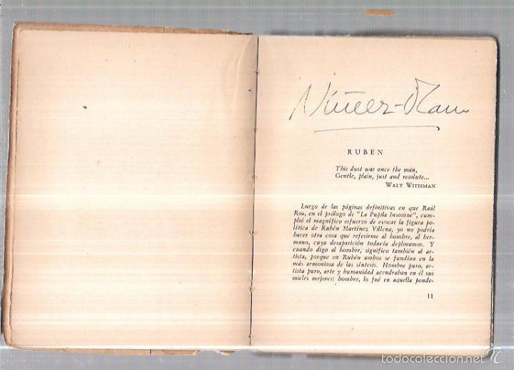Libros antiguos: UN NOMBRE Y OTRAS PROSAS. RUBEN MARTINEZ VILLENA. LA HABANA. 1940. 1ªED. 165PAGS. 16,5X12,8 CM - Foto 4 - 58663673