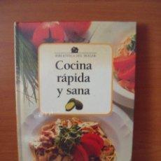 Libros antiguos: COCINA RÁPIDA Y SANA--CLUB INTERNACIONAL DEL LIBRO. Lote 58688398