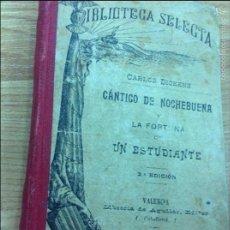 Libros antiguos: CANTICO NAVIDA DICKENS. Lote 58730620