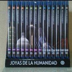 Libros antiguos: JOYAS DE LA HUMANIDAD (ADEMAS DE LOS CINCO LIBROS INCLUYE 14 CD.). Lote 56200823