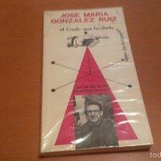 Libros antiguos: JOSE MARIA GONZALEZ RUIZ. Lote 58951425