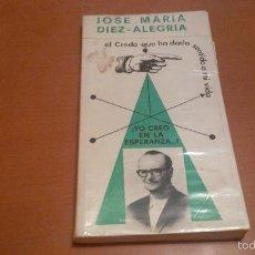 Libros antiguos: JOSE MARIA DIEZ ALEGRIA. Lote 58951815