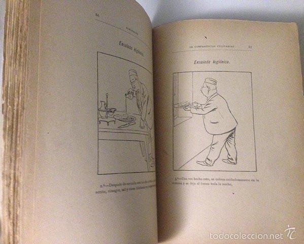 Libros antiguos: Angel Muro : Almanaque de conferencias culinarias 1892. (Incompleto) - Foto 3 - 58963925