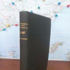 Libros antiguos: ROB-ROY .- SIR WALTER SCOTT .- IMPRENTA LUIS TASSO 1858. Lote 59198495