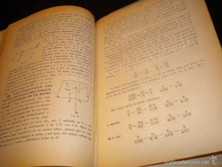Libros antiguos: tratado de mecanica general I y II / joaquin del soto hidalgo / 1931 / primera edicion - Foto 4 - 59442185