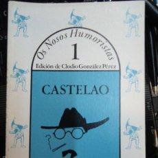 Libros antiguos: CASTELAO 1982 CLODIO GONZÁLEZ PÉREZ ILUSTRADO. Lote 59772284