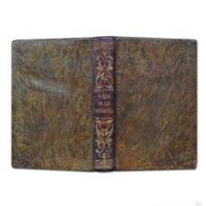 Libros antiguos: MANUAL DE LAS SEÑORITAS: COSTURAS, VESTIDOS, BORDADOS, ENCAJES Y OTRAS LABORES. MADRID, 1853.. Lote 59859336