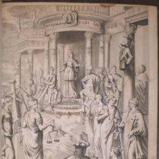 Libros antiguos: SAAVEDRA FAXARDO, DIEGO: OBRAS. 2 VOLS. 1681. Lote 59971679