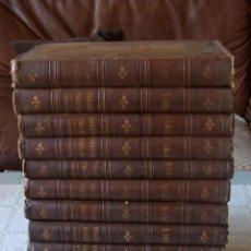 Libros antiguos: HISTORIA UNIVERSAL DE CESAR CANTÚ. 1886-1889. FORMADO POR 12 TOMOS (DEL 1 AL 11 MÁS OTRO TOMO 5). Lote 60049075