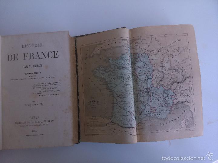 Libros antiguos: Histoire de France. V. Duruy (2 Tomos) - Foto 2 - 60097231
