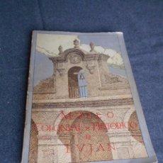 Libros antiguos: CATÁLOGO MUSEO COLONIAL E HISTÓRICO DE LUJÁN DE BUENOS AIRES 1933 ILUSTRADO CARRETAS. MUEBLES, ETC.. Lote 60135603