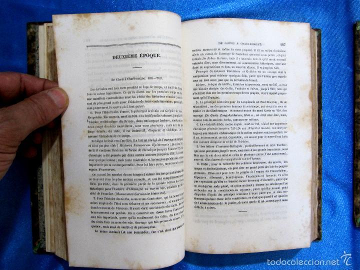 Libros antiguos: HISTOIRE D ALLEMAGNE. PAR KOHLRAUSCH. TRAD. A. GUINEFOLLE. PARIS, 1840, 1838. HISTORIA DE ALEMANIA. - Foto 3 - 60277983