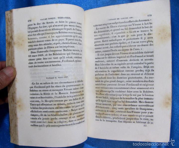Libros antiguos: HISTOIRE D ALLEMAGNE. PAR KOHLRAUSCH. TRAD. A. GUINEFOLLE. PARIS, 1840, 1838. HISTORIA DE ALEMANIA. - Foto 6 - 60277983