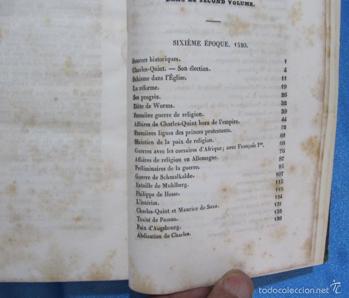 Libros antiguos: HISTOIRE D ALLEMAGNE. PAR KOHLRAUSCH. TRAD. A. GUINEFOLLE. PARIS, 1840, 1838. HISTORIA DE ALEMANIA. - Foto 7 - 60277983
