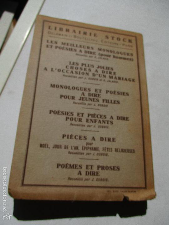 Libros antiguos: MANUEL NOUVEAU, DES USAGES MONDAINS EN FRANCE ET Á L´ETRANGER, LA TRADITION-LA VIE MODERNE-S/F - Foto 3 - 60279235