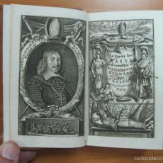 Libros antiguos: LA VIE ET LES FAITS MEMORABLES DE CHRISTOFLE BERNARD VAN GALEN..., 1679. M.G./MORTIER. Lote 60299347
