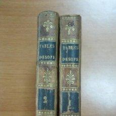 Libros antiguos: FABULAS DE ESOPO, 1798. TOMO I Y II (OBRA COMPLETA). MUY BIEN ILUSTRADA. Lote 60299487