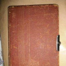 Libros antiguos: RARO LIBRO MANUSCRITO DE POESIA ANTIGUO 1916 VARIAS FIRMAS !!!!!!!. Lote 53291844