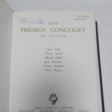 Libri antichi: LOS PREMIOS GONCOURT DE NOVELA. VOL IV. EDITORES PLAZA & JANES. 1965.. Lote 60400639