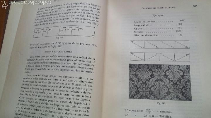 Libros antiguos: APUNTES DE TEORIA DE TEJIDOS . JERÓNIMO OLLER Y ESTEPA+ TEÓRICO PRÀCTICO DE TEJIDOS . FCO.SALADRIGAS - Foto 10 - 60414889