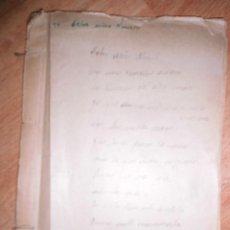 Libros antiguos: FELIZ AÑO NUEVO ANTIGUO LIBRO MANUSCRITO ORIGINAL INEDITO CARLOS HERRERO MADRID 1932 FIRMADA. Lote 60593571