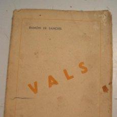 """Libros antiguos: NOVELA """"VALS"""", 1944. Lote 60596535"""