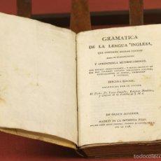 Libri antichi: 7958 - GRAMÁTICA DE LA LENGUA INGLESA. TOMAS CONNELLY. IMP. REAL. 1798.. Lote 60761743