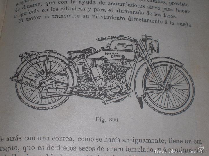Libros antiguos: Magnifico y raro manual del conductor de Automoviles 1920 - Foto 2 - 60874179