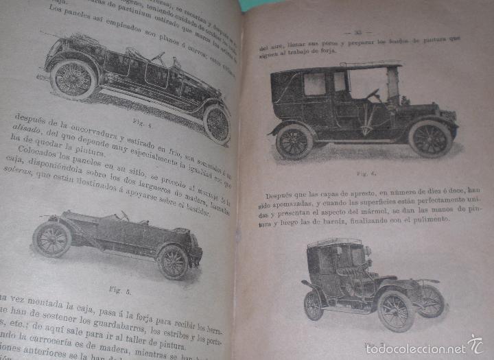 Libros antiguos: Magnifico y raro manual del conductor de Automoviles 1920 - Foto 4 - 60874179