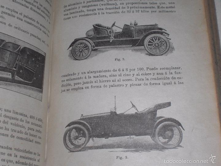 Libros antiguos: Magnifico y raro manual del conductor de Automoviles 1920 - Foto 5 - 60874179