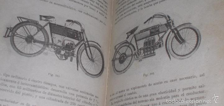 Libros antiguos: Magnifico y raro manual del conductor de Automoviles 1920 - Foto 6 - 60874179