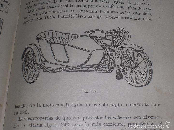 Libros antiguos: Magnifico y raro manual del conductor de Automoviles 1920 - Foto 7 - 60874179