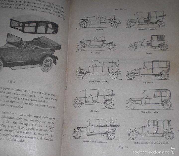 Libros antiguos: Magnifico y raro manual del conductor de Automoviles 1920 - Foto 8 - 60874179