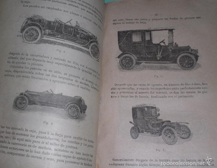 Libros antiguos: Magnifico y raro manual del conductor de Automoviles 1920 - Foto 9 - 60874179