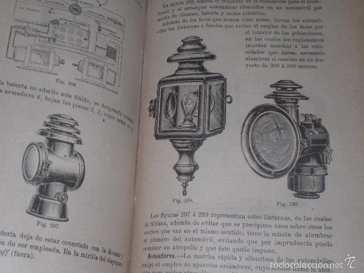 Libros antiguos: Magnifico y raro manual del conductor de Automoviles 1920 - Foto 10 - 60874179