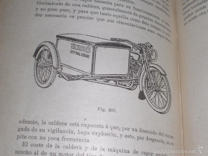 Libros antiguos: Magnifico y raro manual del conductor de Automoviles 1920 - Foto 11 - 60874179