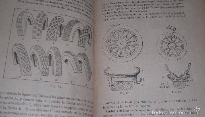 Libros antiguos: Magnifico y raro manual del conductor de Automoviles 1920 - Foto 13 - 60874179