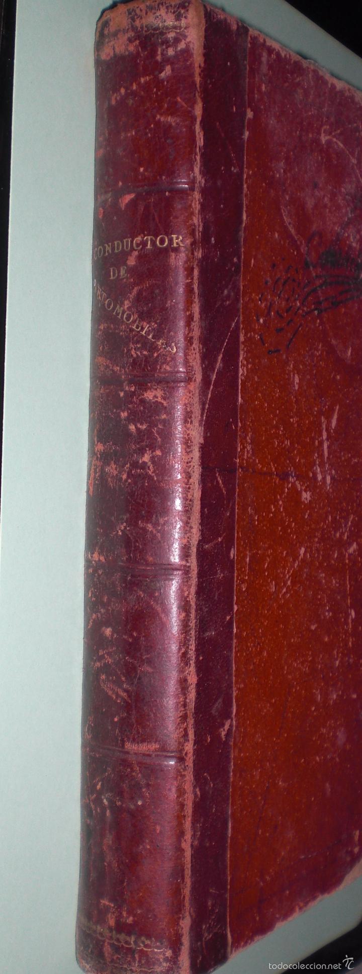 Libros antiguos: Magnifico y raro manual del conductor de Automoviles 1920 - Foto 15 - 60874179