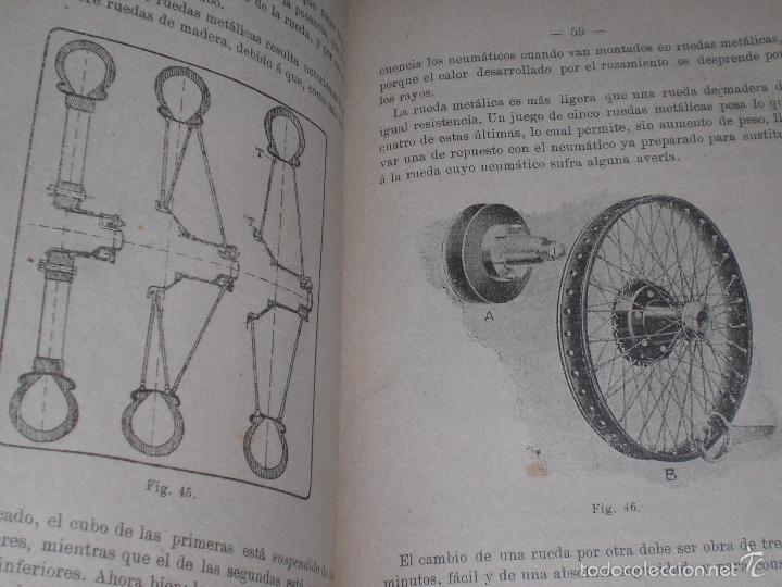 Libros antiguos: Magnifico y raro manual del conductor de Automoviles 1920 - Foto 16 - 60874179