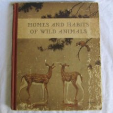 Libros antiguos: HOMES AND HABITS OF WILD ANIMALS 1934 NORTH AMERICAN MAMMALS. K. PATTERSON SCHMIDT. Lote 60912255