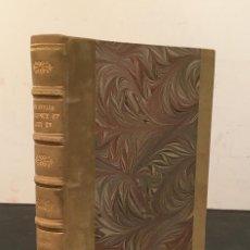 Libros antiguos: ENCUADERNACION - INTERIORISMO - ARTES DECORATIVAS - ÉMILE BAYARD LES STYLES RÉGENCE ET LOUIS XV. Lote 60935507