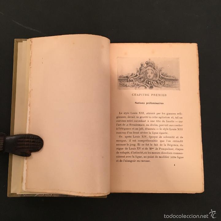 Libros antiguos: ENCUADERNACION - INTERIORISMO - ARTES DECORATIVAS - Émile BAYARD Les Styles Régence et Louis XV - Foto 8 - 60935507